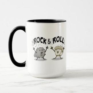 Rock and Roll, Funny Coffee Mug