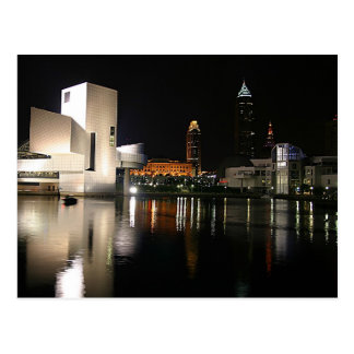 Rock and Roll Hall of Fame Cleveland Ohio Postcard