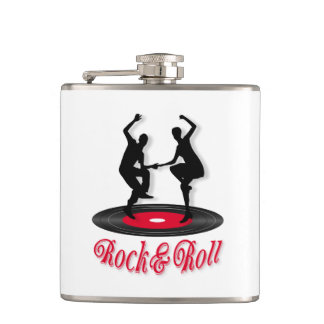 Rock and roll hip flask