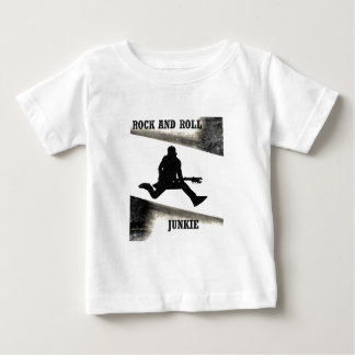 Rock and Roll Junkie Baby T-Shirt
