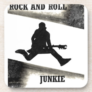 Rock and Roll Junkie Coaster