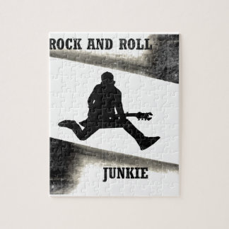 Rock and Roll Junkie Jigsaw Puzzle