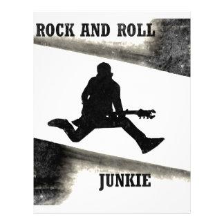 Rock and Roll Junkie Letterhead