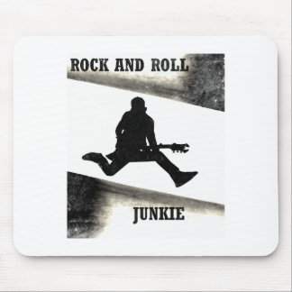 Rock and Roll Junkie Mouse Pad