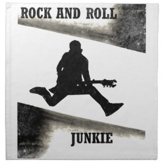 Rock and Roll Junkie Napkin