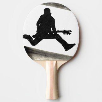 Rock and Roll Junkie Ping Pong Paddle
