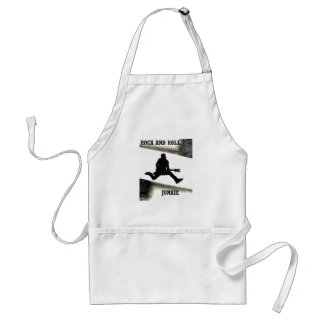 Rock and Roll Junkie Standard Apron