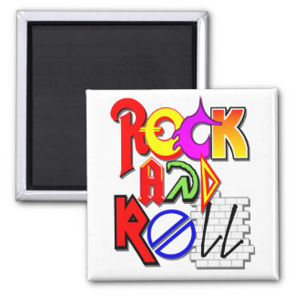 Rock and Roll Magnet (White)