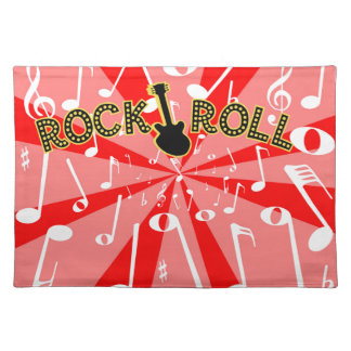 Rock And Roll Noise Placemat