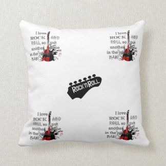 'Rock and Roll' Pillow