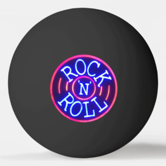 Rock and Roll Ping Pong Ball