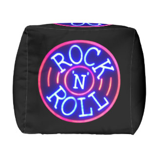 Rock and Roll Pouf