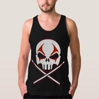 Rock and Roll Tank Top Heavy Metal Shirt Men's