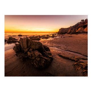 Rock and Shore at El Matador Postcard