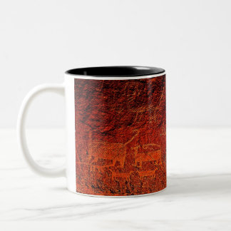 Rock Art Large Coffee Mug