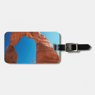 Rock At The Arch Luggage Tag