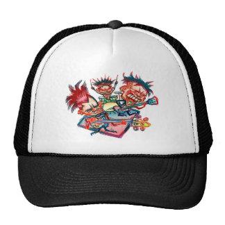 Rock Band Trucker Hat