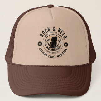 Rock & Beer ™ Trucker Hat
