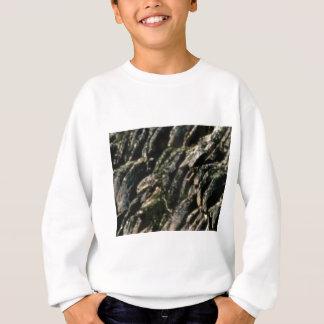 rock bends texture sweatshirt