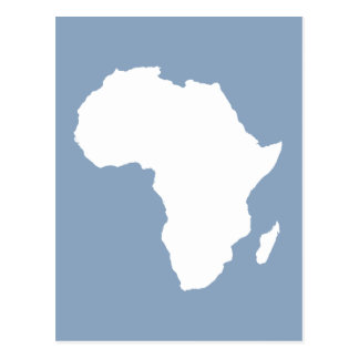 Rock Blue Audacious Africa Postcard