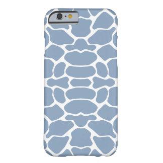 Rock Blue Safari Giraffe Barely There iPhone 6 Case