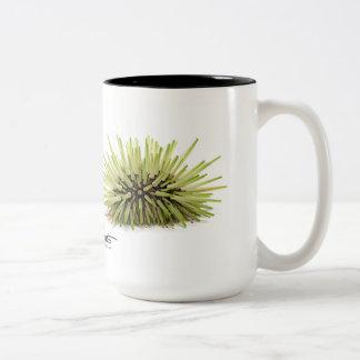 Rock-boring Sea Urchin, Echinometra mathaei Two-Tone Coffee Mug