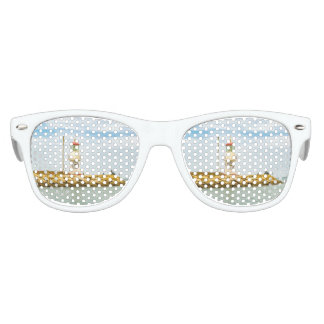Rock Breakwater Salinas Ecuador Kids Sunglasses