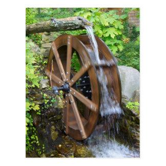 Rock City Water Wheel Postcard