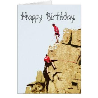 rock climber card
