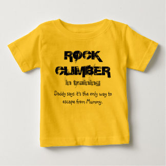 rock climber in training T shirt