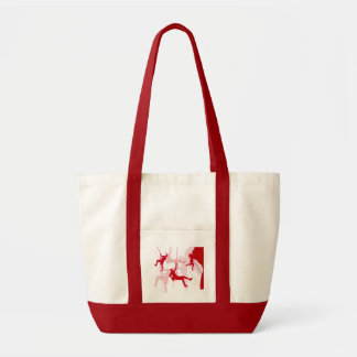Rock Climber Silhouettes Tote Bag