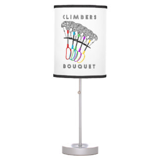 Rock Climbers Bouquet Table Lamp