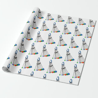Rock Climbers Natual Protection Equipment Wrapping Paper