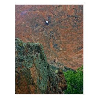 Rock Climbers Postcard