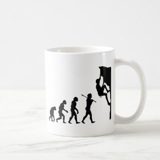 Rock Climbing Basic White Mug