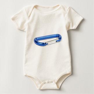 Rock Climbing Carabiner Baby Bodysuit