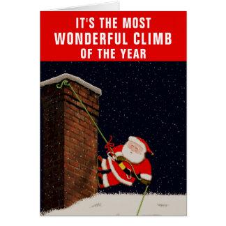 Rock Climbing Christmas cards