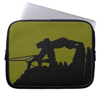 Rock Climbing Laptop Sleeve