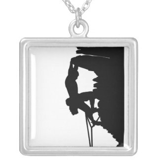 Rock Climbing Necklace