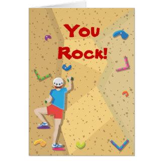 Rock Climbing Party Thank You Notes