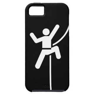 Rock Climbing Pictogram iPhone 5 Case