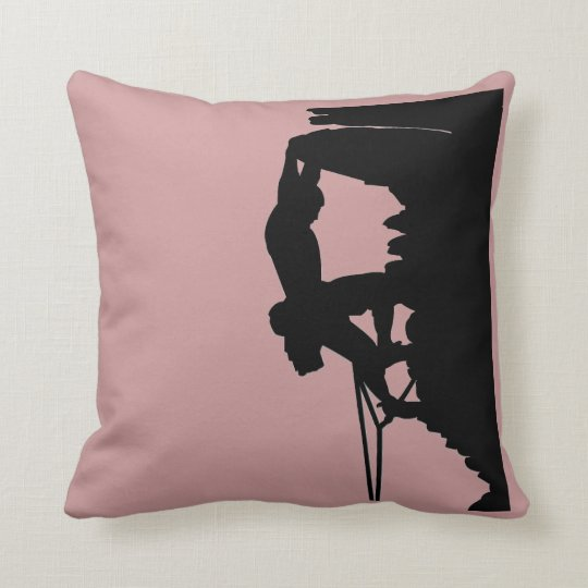 Rock Climbing Pillow