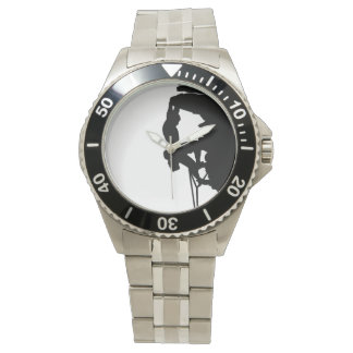 Rock Climbing Stainless Steel Watch