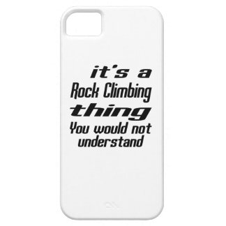 Rock Climbing THING DESIGNS iPhone 5 Case