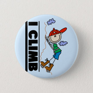 Rock Climbing Tshirts and Gifts 2 Inch Round Button