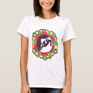 Rock Climbing Zen Girl T-Shirt