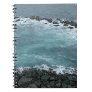 Rock Coast Spiral Notebooks