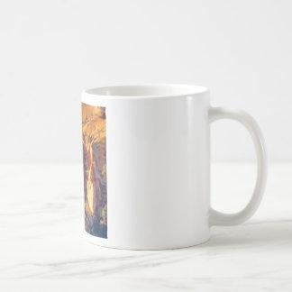 rock cracks crevices coffee mug