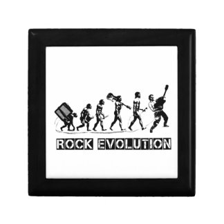 Rock Evolution funny design Gift Box