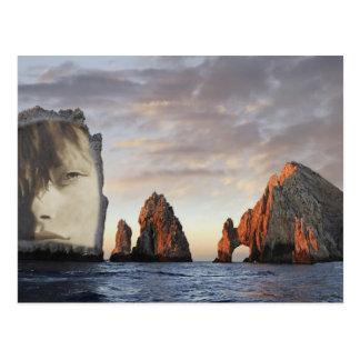 Rock eye postcard